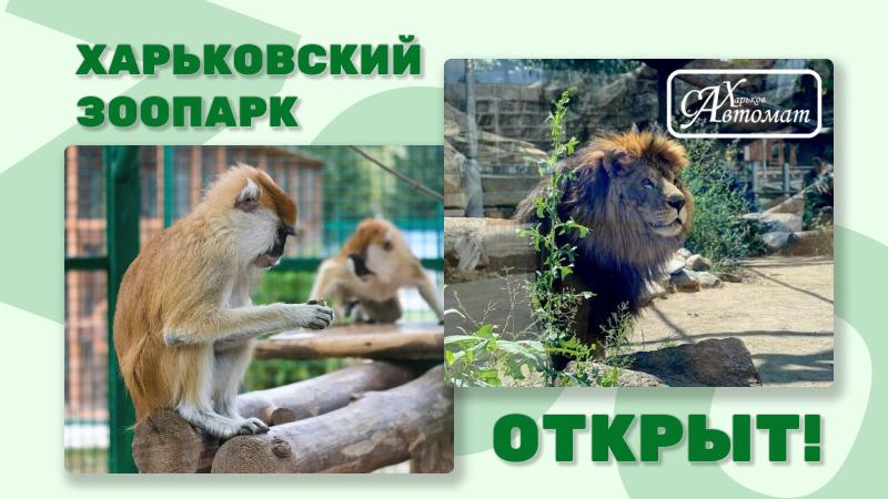 Харківський Зоопарк Відкрито! - ПМУ Сахавтомат