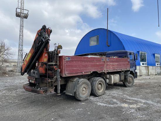 Спеціальна техніка для будь-яких завдань MAN Palfinger PK-16000 від САХАВТОМАТ Харків, Україна